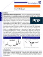 [DB] Real Rates and FX