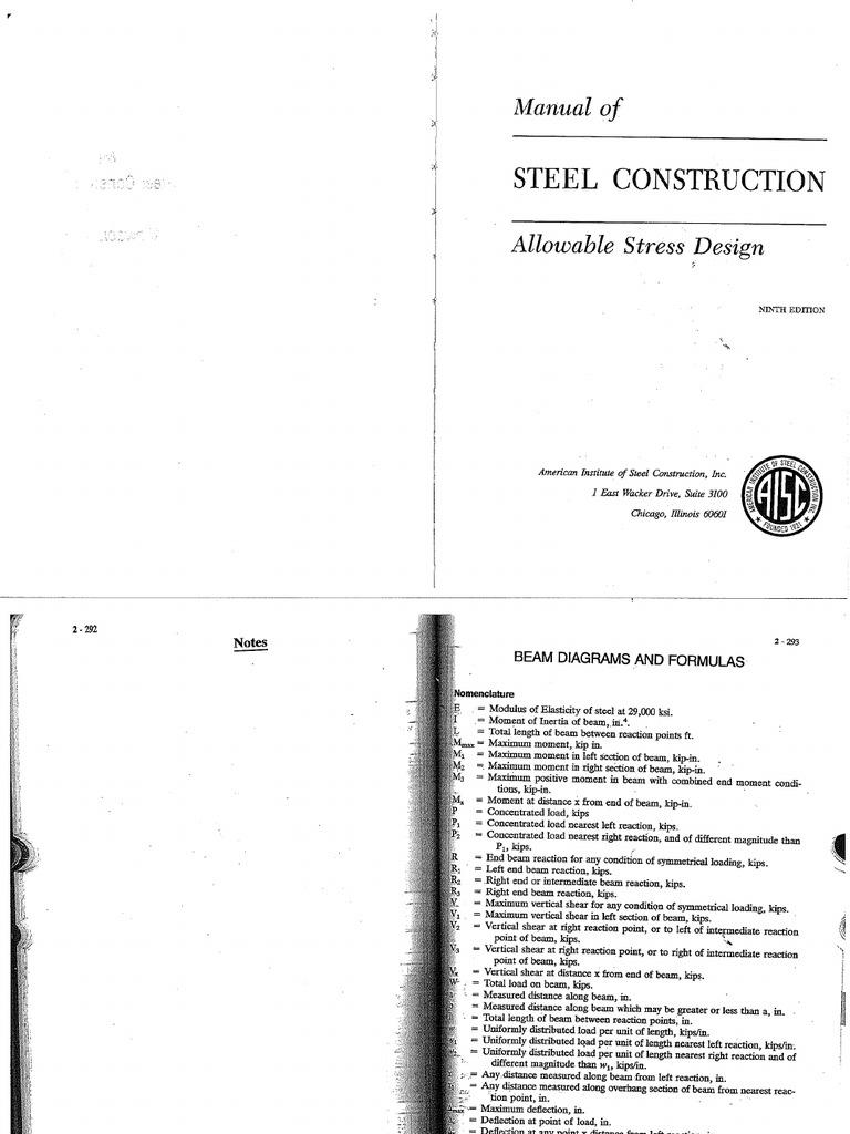 Allowable Stress Design 9th Edition (AISC) (2)
