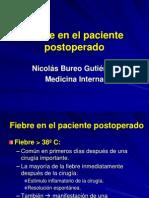 Fiebre en Paciente Post. Operado 1