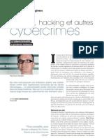Phishing, hacking et autres cybercrimes. La cybercriminalité, la piraterie moderne