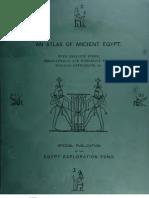 An Atlas of Ancient Egypt, EEF, 1894
