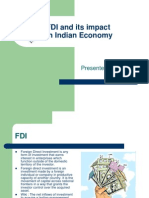FDI and Its Impact in Indian Economy