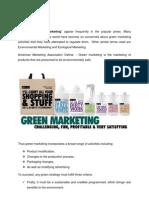 Green Marketing 2