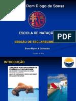 Sessão de Esclarecimento. Ensino da Natação. Bruno Miguel Guimarães