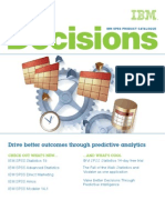 Decisions Ibm Spss Product Catalogue