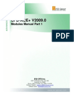 CFD-ACE V2009.0 Modules Manual Part1