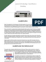 The Development of Technology-Based Music 2 Sampling