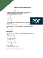 fungsi Komposisi Fungsi, Fungsi Invers
