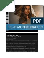 PORTO CANAL TV - Petição Metro Trofa entregue na AR