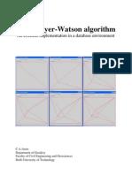 Bowyer Watson Algorithm