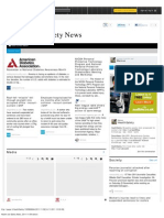 Health and Safety News, 2011-11-09 Edition