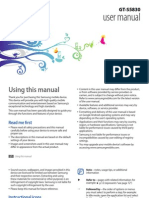 Samsung Galaxy Ace GT-S5830 User Manual (ENG)