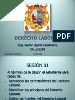 DERECHO  LABORAL.2011.SESIÓN 01