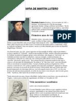 Biografia de Martin Lutero