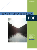Town of Tusten - Draft Zoning Law