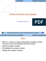CP Lect 06 [Friend Functions and Classes]