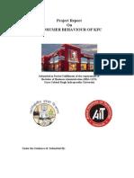 Consumer Behaviour Study of Kfc