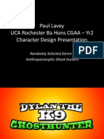 University Yr 2 Project Character Design Presentation
