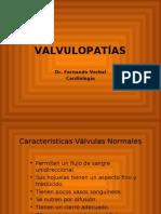 VALVULOPATIAS Fisiopatologia