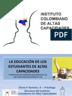 Power Point Instituto Colombiano de Altas des