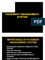 Class 26 - Pavement Management System