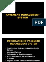 Class 26 - Pavement Management System