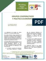 GRUPOS COOPERATIVOS Y POLÍTICA ECONÓMICA - CO-OPERATIVE GROUPS AND ECONOMIC POLICY (Spanish) - KOOPERATIBEN TALDEAK ETA POLITIKA EKONOMIKOA (Espainieraz)