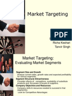 Market Targeting Final Richa Eashani Tanvir