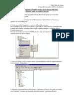 ejecutar un programa automáticamente en un entorno PREMIA al iniciar sesión un usuario concreto