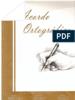 ACORDO ORTOGRAFICO