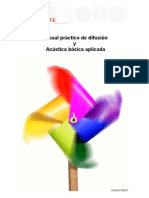 Manual Acústica MADEL
