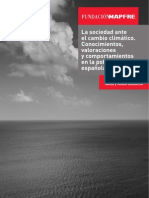La Sociedad Ante El Cambio Climatico 2011