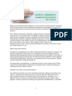 Quinoa y Amaranto