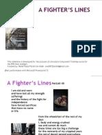 A Fighter's Lines (Poem)