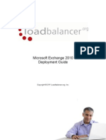 Microsoft Exchange 2010 Deployment Guide