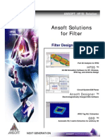 Ansoft Solutions Filter 8029