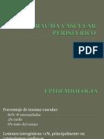 DX Y TTO DE TRAUMA VASCULAR PERIFÉRICO