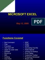Microsoft Excel Presentation 2