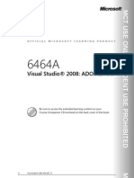 6464ak en Vs2008 Ado.net3.5 Trainer Manual