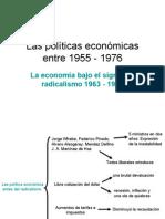 La política económica con el Radicalismo 1963-66