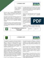 Politica Ambiental Sector Azucarero