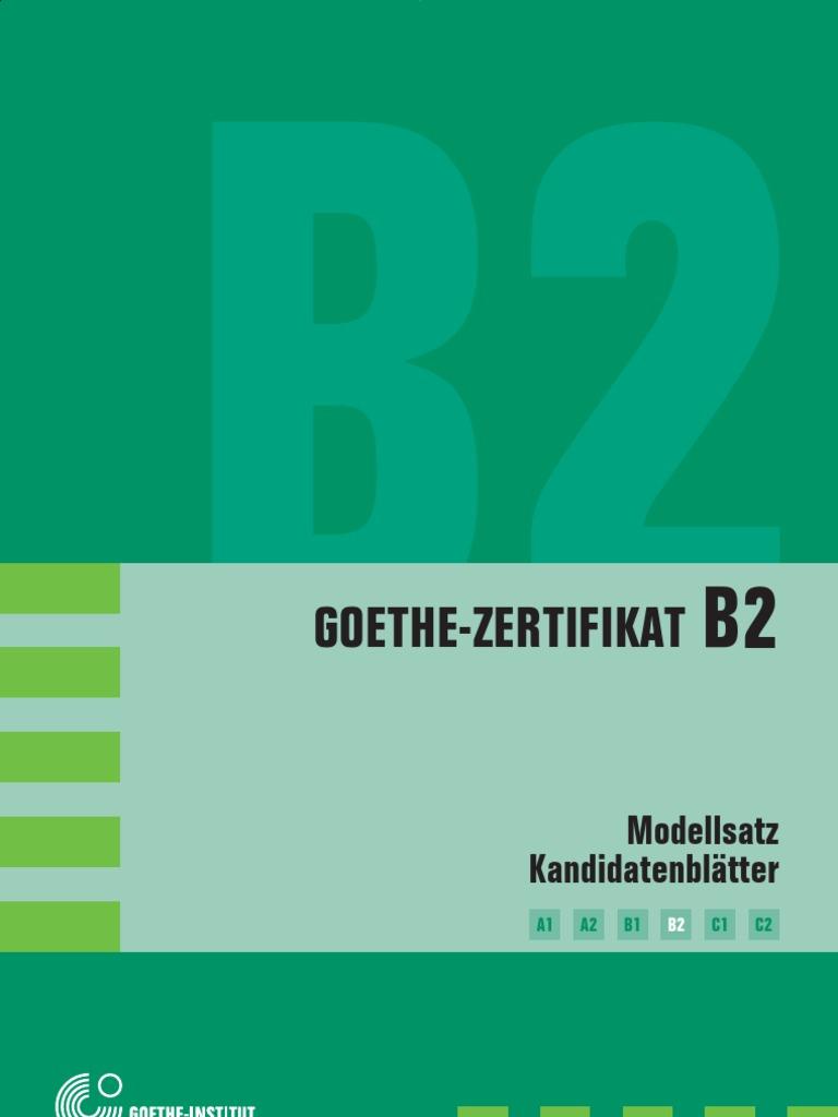 Pruefung Gi B2 Leseverstehen