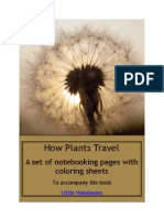 How Plants Travel Notebooking Pack
