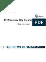 Performance Day Presentation