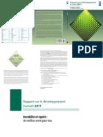 Rapport_sur le développement humain 2011(Fr)