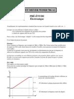 Meyer - Pré-étude électronique V0-1
