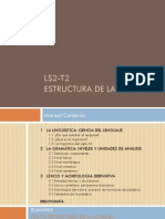 LS2-T2 Estructura de la lengua PRESENTACIÓN