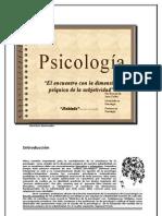 Psicología, 2008. Didáctico