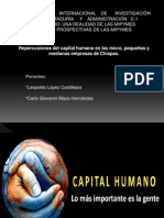 Repercuciones Del Capital Humano en Las Mipymes de Chiapas
