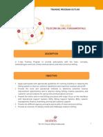 FIN-101E Telecom Billing Fundamentals
